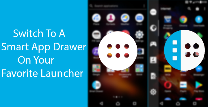 what is android app drawer