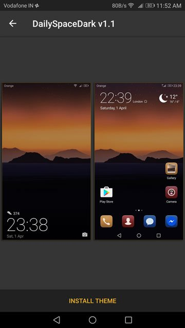Enable A Dark Theme On Your Honor 8 Pro Or EMUI 5 In General
