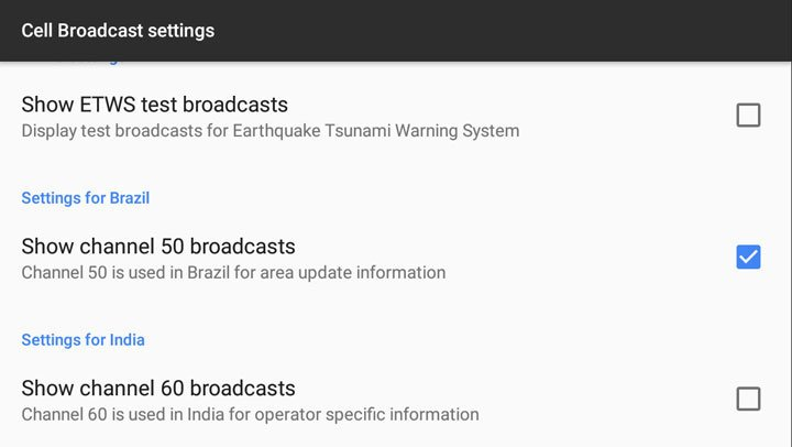 How to Disable Emergency Cell Broadcast Messages on Android