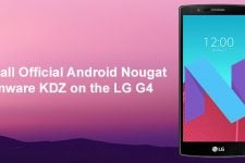 Nougat Firmware on LG G4