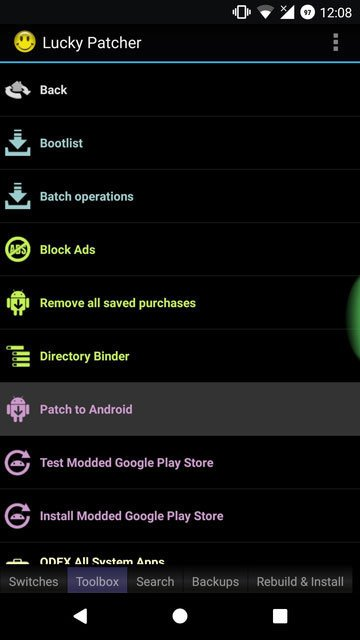 Switch The Recent Apps Screen On Android Nougat With OmniSwitch