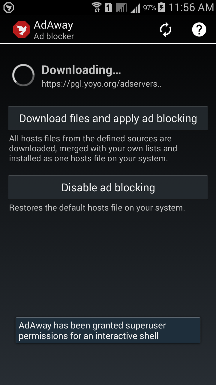 AdAway for Android