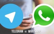 Telegram and Whatsapp - The Modernized One vs the Conventional One - Droid Views