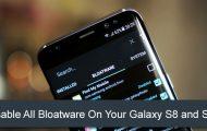 Bloatware on Galaxy S8