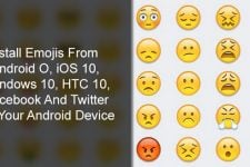 Windows 10 and iOS 10 Emojis on Android