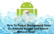 Freeze Background Apps on Android