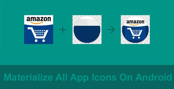 How to materialize all app icons on android droidviews for How to materialize