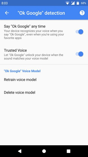 how to get google assistant to unlock phone