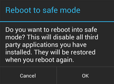 boot android safe mode
