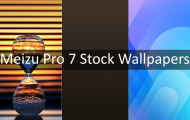 Download Meizu Pro 7 Stock Wallpapers
