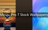 Download Meizu Pro 7 Stock Wallpapers