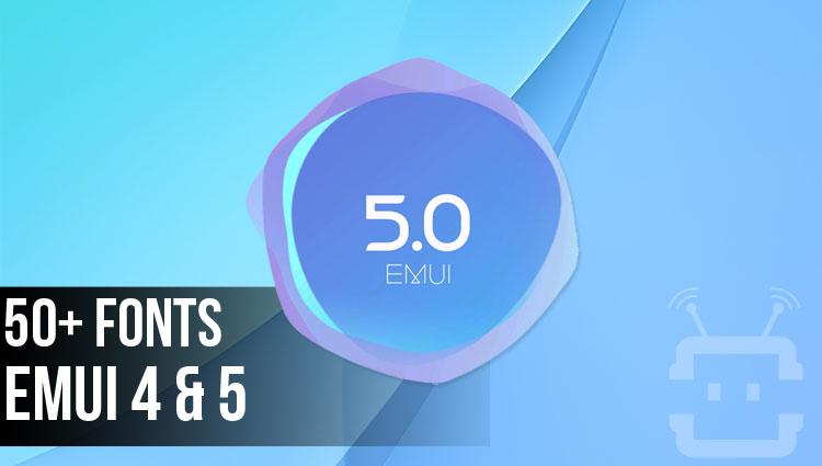 Custom Fonts on EMUI