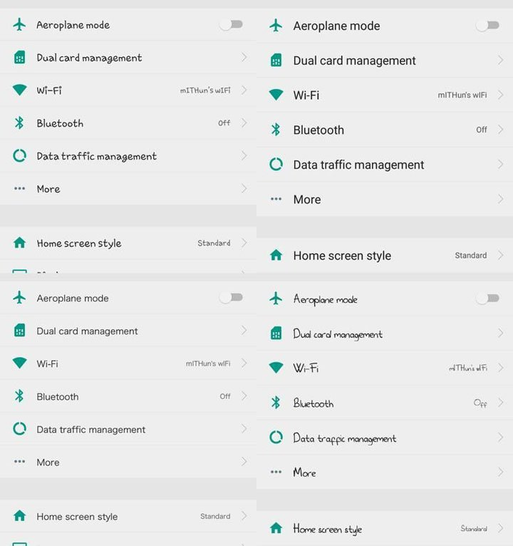 font preview on emui