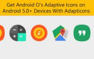 Adapticons Brings Android O Adaptive Icons