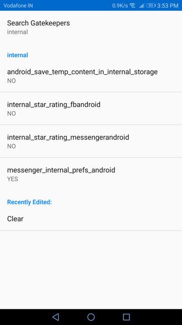 Access Facebook Messenger's Hidden Internal Settings