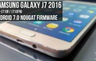 Android 7.0 Nougat Firmware on Galaxy J7 2016