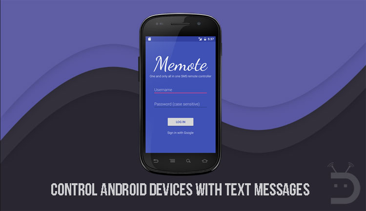 Control Android Devices with Text Messages