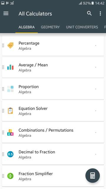 cool android apps - calculator