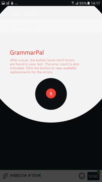 grammarPal options