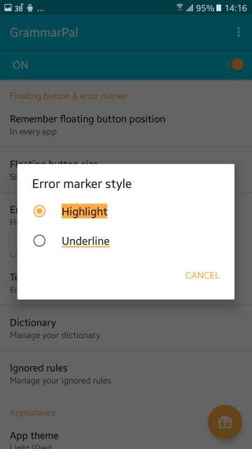 grammatical error highlights