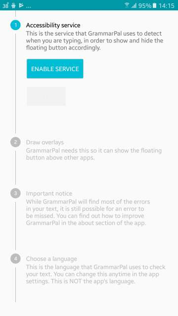 grammarpal cool android apps
