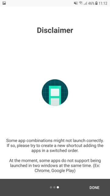 Note 8 App Pair Feature