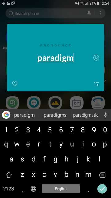 Pronounce App for Android