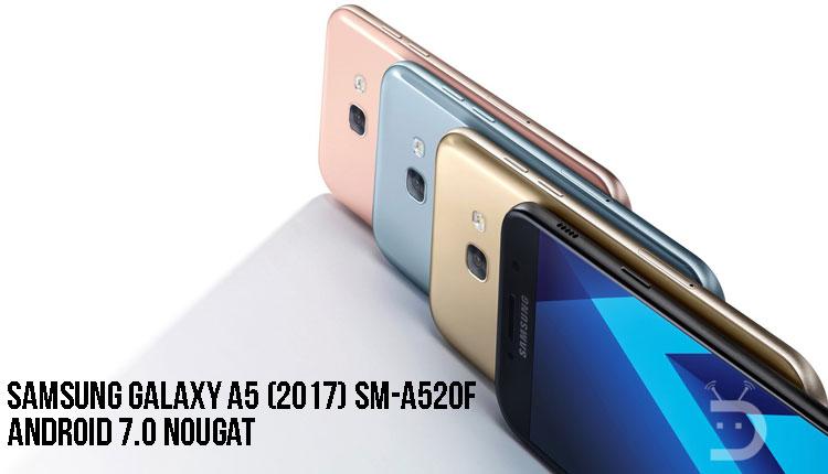 Nougat Firmware on Galaxy A5