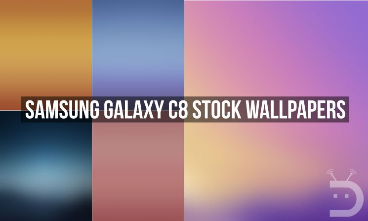 Samsung Galaxy C8 Stock Wallpapers