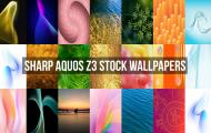 Sharp Aquos Z3 Stock Wallpapers