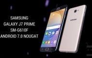 Update-Galaxy-J7-Prime-SM-G610F-with-Android-Nougat-Firmware