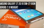 Update Samsung Galaxy J7 2016 SM-J710GN