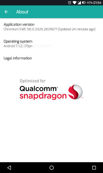 Qualcomm Snapdragon Device