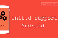 Init.d support android