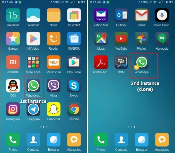 Enable Dual Apps On MIUI