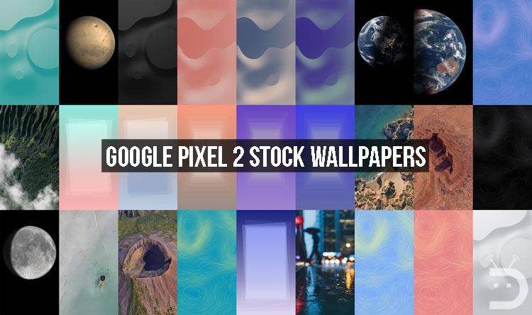 Google Pixel 2 Stock Wallpapers