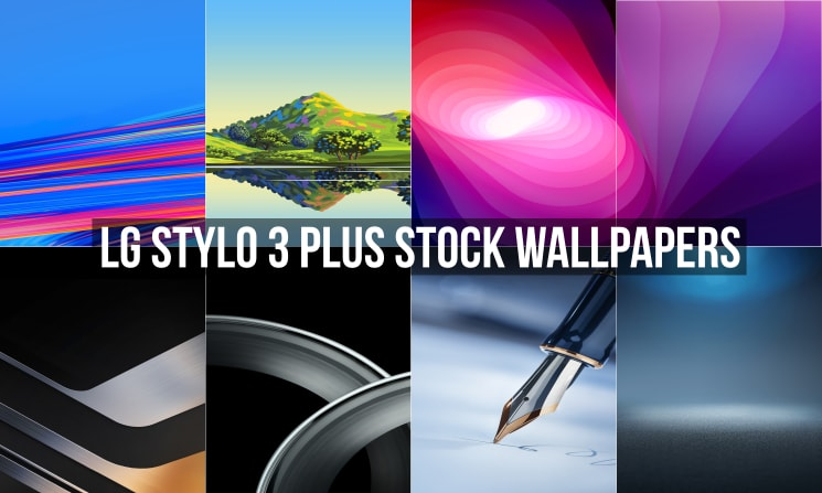 Download LG Stylo 3 Plus Stock Wallpapers