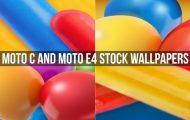 Moto C and Moto E4 Stock Wallpapers