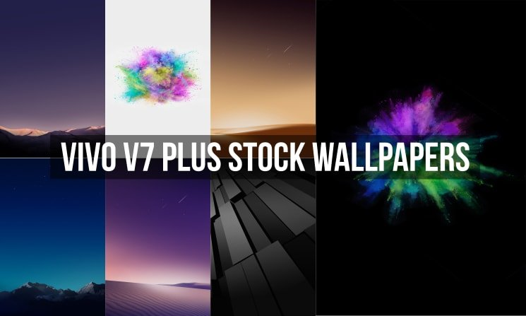Vivo V7 Plus Stock Wallpapers