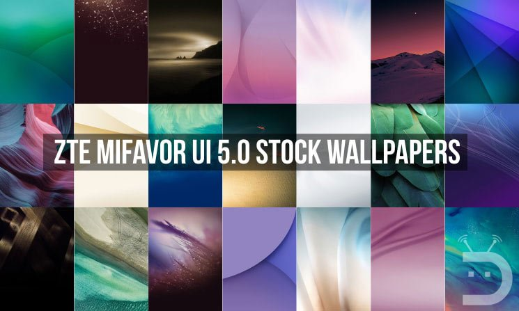 ZTE MiFavor UI 5.0 Stock Wallpapers