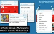 Multitasking Windows on Android