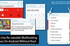 Multitasking Windows on Android