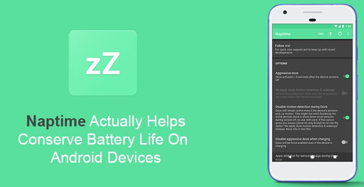 Naptime Actually Helps Conserve Battery Life on Android Devices