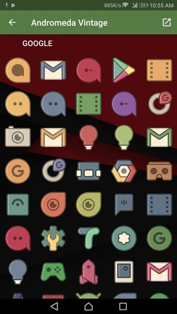 icons packs android
