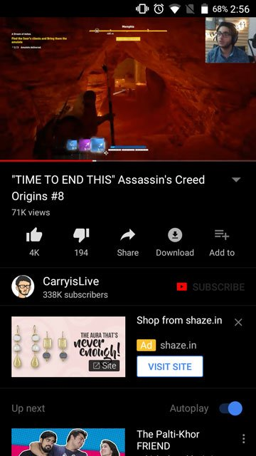 YouTube No Ads APK with Dark Mode