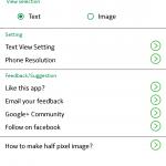 Custom AOD app home screen