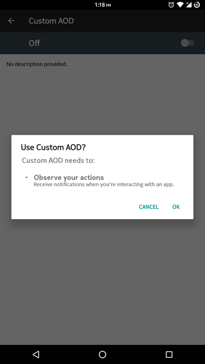 Custom AOD - Customize Always On Display without Root