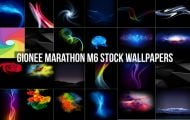 Gionee Marathon M6 Stock Wallpapers
