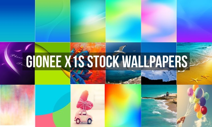 Gionee X1S Stock Wallpapers