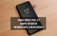 Always-on Display on Nexus
